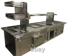 Custom Molteni Island Cooking Suite / Range / Stove