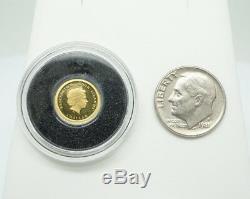 Elizabeth II Cook Islands $1 Titanic 100th Anniversary 0.999 Gold Coin