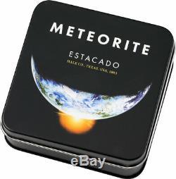 Estacado Meteorite 1/2 oz Titanium Silver 925 Silk Finish 2019 Silbermünze