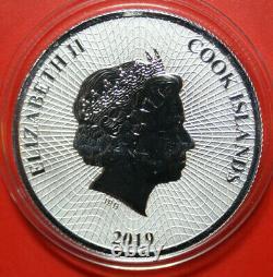 FEHLPRÄGUNG Cook Islands 1 Dollar 2019 Silber #F3866 Seestern Ounze 1Unze