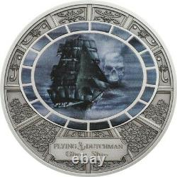 FLYING DUTCHMEN Ghost Ships Silver Coin 2016 Cook Islands