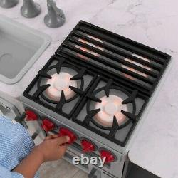 KidKraft Chefs Cook N Create Island Play Kitchen with EZ Kraft Assembly
