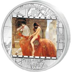 Lady Godiva John Collier Masterpieces of Art Silver Coin Cook Islands 2013