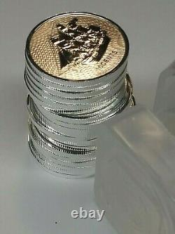 Lot of 20 2021 Cook Islands 1/10 oz Silver Bounty Coin Mint tube
