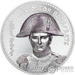 NAPOLEON BONAPARTE Revolutionaries 1 Oz Silver Coin 1000 Togrog Mongolia 2021