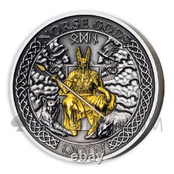 ODIN THE NORSE GODS SERIES 1$ 2oz COOK ISLANDS 2021