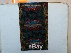 OZZY'S SURVIVOR BUFF COOK ISLANDS ACTUAL MERGE BUFF! Authentic fire smell