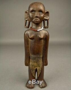 Old PACIFIC COOK ISLANDS TAHITI HAWAII VANUATU POLYNESIA TIKI God Wood Carving