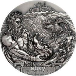 Prometheus Cook Islands 2020 20$ Titans 3 Oz Silver Coin