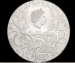Rare 2017 Cook Island $5 Scarab Secret Riddle 1 OZ Silver Coin 499 NGC PF69