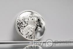 SILVER BURST 3 Oz Silver Coin 20$ Cook Islands 2021