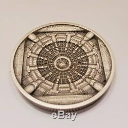 SOLD OUT 2015 COOK ISLANDS TEMPLE OF HEAVEN 20 Dollar 3.2 Oz OF PURE SILVER