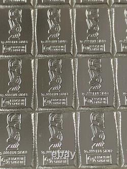 Silberbarren Cook Island Valcambi 1 100 Gr. 999 Feinsilber Barren CombiCoin