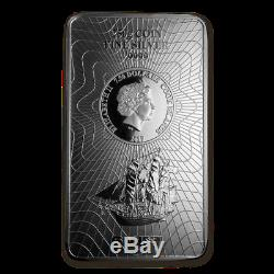 Silver Coin Bar Cook Islands Bounty 2017 250 gram 99.99% pure silver