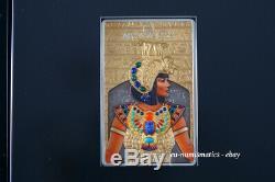 Solomon Islands 2019 66$ Masterpieces CLEOPATRA Gold Silver Coin Egypt
