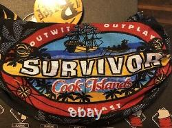 Survivor Cook Islands black Aitutonga merge buff New withcard and tags