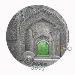 TIFFANY ART SAFAVID final Edition 10$ 2oz silver coin Palau 2020