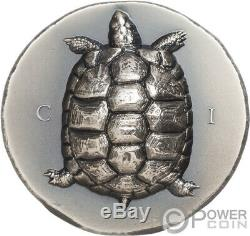 TORTOISE Turtle 1 Oz Silver Coin 5$ Cook Islands 2020
