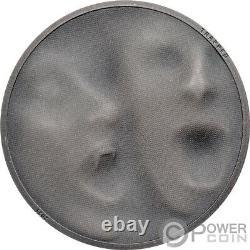 TRAP ATTACK 1 Oz Silver Coin 5$ Cook Islands 2021