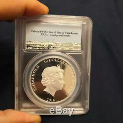 The Great Tea Race 2oz Silver Proof Coin PCGS PR69 FS Smart Minting Coin only