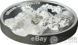 VINALES Meteorite Impacts 1 Oz Silver Coin 5$ Cook Islands 2020