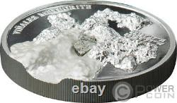 VINALES Meteorite Impacts 1 Oz Silver Coin 5$ Cook Islands 2020