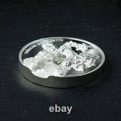 Vinales Meteorite 1 oz high relief silver coin Cook Islands 2020