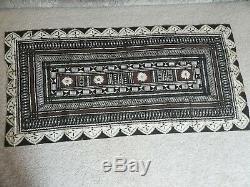 Vintage Cook Island Maori Tapa Kapa Bark Cloth