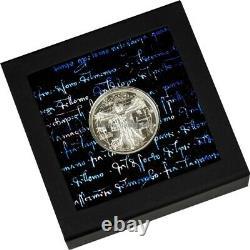 Vitruvian Man X-Ray 1 oz silver coin Cook Islands 2021